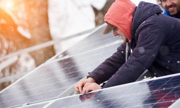 Zonnepanelen: ook nuttig in de winter?